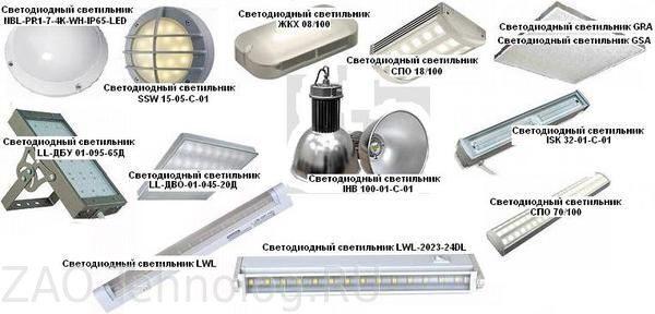 Светодиодный модуль касание
