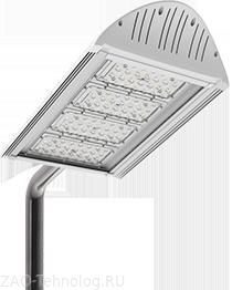 Светодиодные светильники уличного освещения на опоры