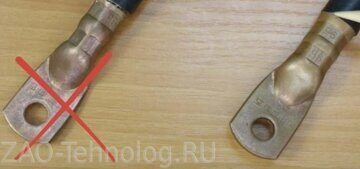 правильная опрессовка наконечников прессом пгр-300 квт